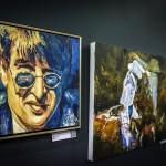 Arvydas Gaiciunas (Retne) personal exhibition at the Šiauliai Arena.