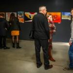 Arvydas Gaiciunas (Retne) personal exhibition at the Šiauliai Arena, Šiauliai, Lithuania. 2019 10 30.