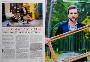 Savaitinis žurnalas Stilius. 2021 kovo 2-8 d. Arvydo Gaiciuno paveikslai.